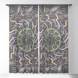 Whirlwind Whifflewhips Sheer Curtain