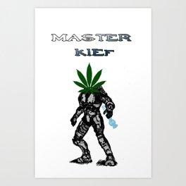 Master Kief (Chief) Art Print