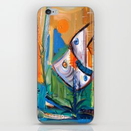 Acuario iPhone Skin