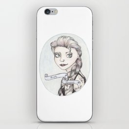 Riot Queen iPhone Skin