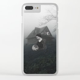 Swamped Clear iPhone Case