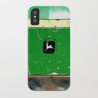 john green iPhone & iPod Cases featuring John Deere Green..... by LeeRay Flowers