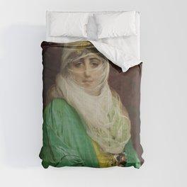 """Jean-Léon Gérôme """"Femme de Constantinople, debout"""" Comforters"""