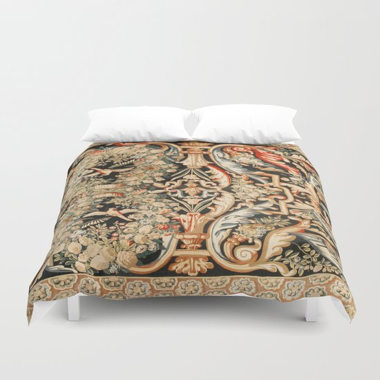 Antique French Gobelins Aubusson Tapestry Print by vickybragomitchell