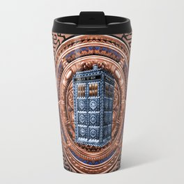 Aztec Tardis doctor who full color iPhone 4 4s 5 5c 6, pillow case, mugs and tshirt Travel Mug