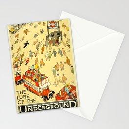 Vintage poster - London Underground Stationery Cards