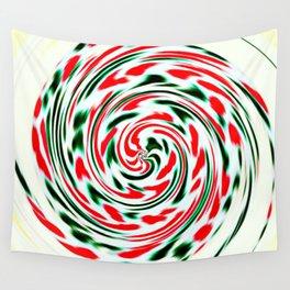Spearmint Lollipop Wall Tapestry