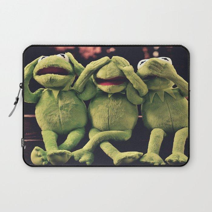 Kermit - Green Frog Laptop Sleeve