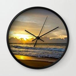 Sunrise over Sri Lanka Wall Clock