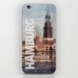hamburg iPhone Skin