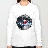 santa Long Sleeve T-shirts featuring Santa by Cs025