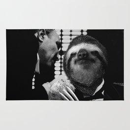 Sloth as Godfather Rug