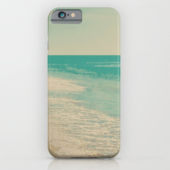 Love Comes In Sea Waves iPhone & iPod Case