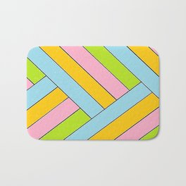 Spring Stripes Bath Mat
