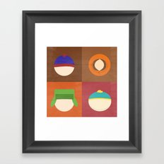 South Park Framed Art Print