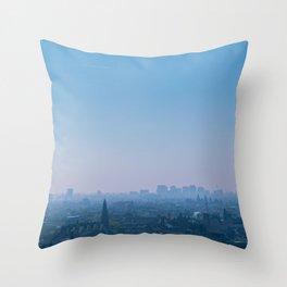 Above Amsterdam Throw Pillow