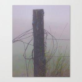 fence post Canvas Print