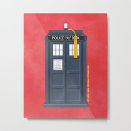 11th Doctor - DOCTOR WHO Metal Print