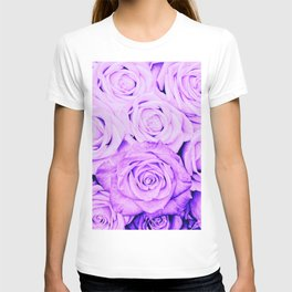 Some people grumble - Floral Ultra Violet Rose Roses Flowers T-shirt