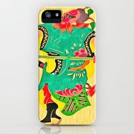 Japanese Samurai Warrior Art (18) iPhone Case