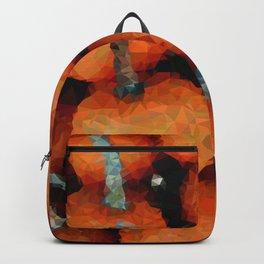 Geometric Pumpkins 1 Backpack