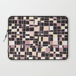 abstract background tile vitrage illustration geometric decorative mosaic art pattern Laptop Sleeve