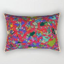 Earths Crowded Feelings Rectangular Pillow