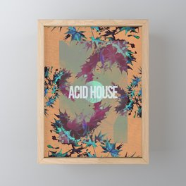 Acid House IV Framed Mini Art Print