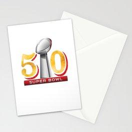 Super Bowl 50 Stationery Cards