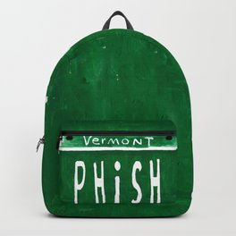 Phish license plate Backpack