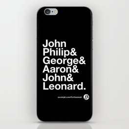 American Composers iPhone Skin