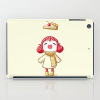 pie iPad Cases featuring Cherry Pie by Freeminds