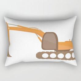 excavator Rectangular Pillow