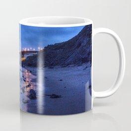 Golden Gate Bridge During Blue Hour Coffee Mug