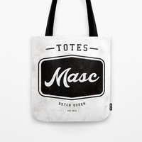 totes Tote Bags featuring Totes Masc - Vintage by lessdanthree