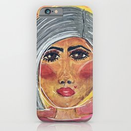 The Lady is a Fox iPhone Case
