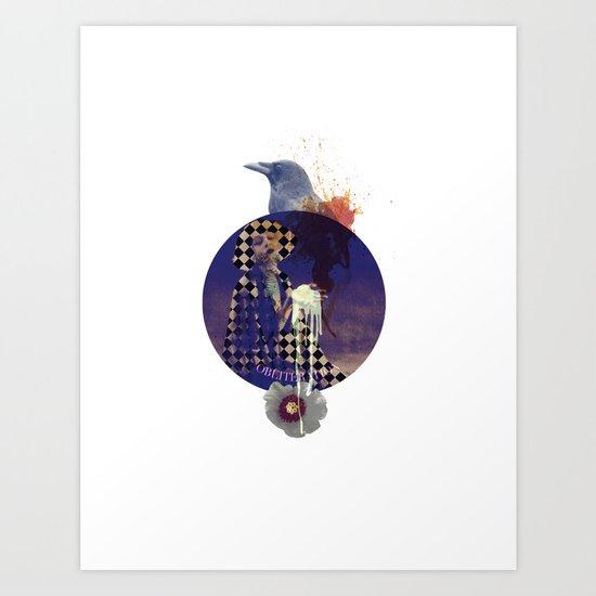 obliteration Art Print