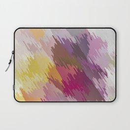 Abstraction. Scribbling with colored pencils . Laptop Sleeve
