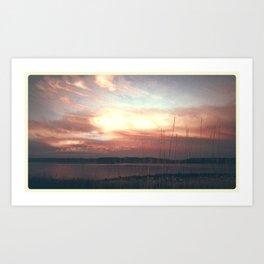 August sky Art Print