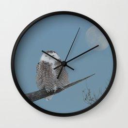 My world orbits around hers Wall Clock