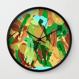 Paradise Island Wall Clock