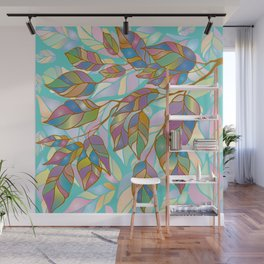 The magic of wilting Wall Mural