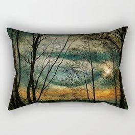 Nature lake Rectangular Pillow