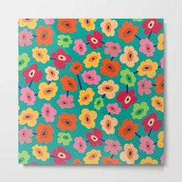 BP 13 Flowers Metal Print