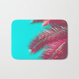 Neon Palm Bath Mat