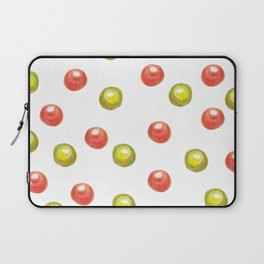 green and red sweetened cherries Laptop Sleeve