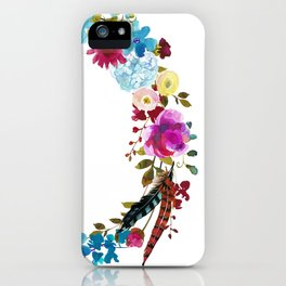 bright n' boho iPhone Case