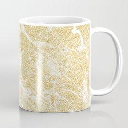 Modern faux gold glitter stylish marble effect Coffee Mug