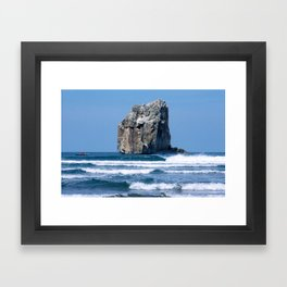 Witches Rock * Costa Rica Framed Art Print
