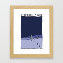 Three Dog Night Framed Art Print